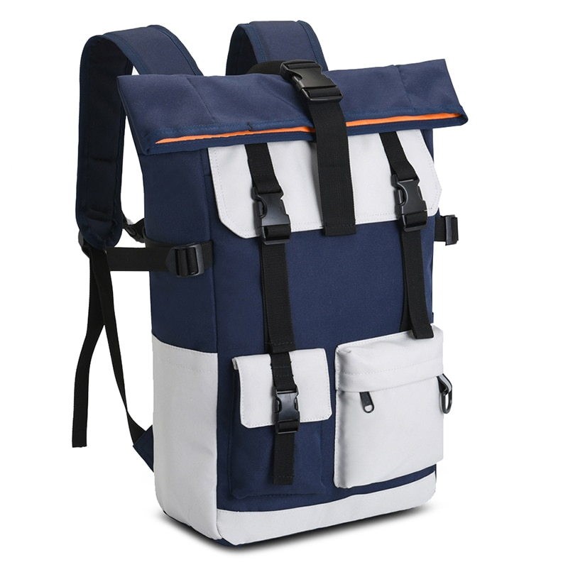 20 inches Multifunctional Large Capacity Travel Nylon Backpack Shoulder School Bag for girls and boys
