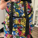Oxford Waterproof Large Capacity Laptop Backpack School Bag  for girls and boys photo review