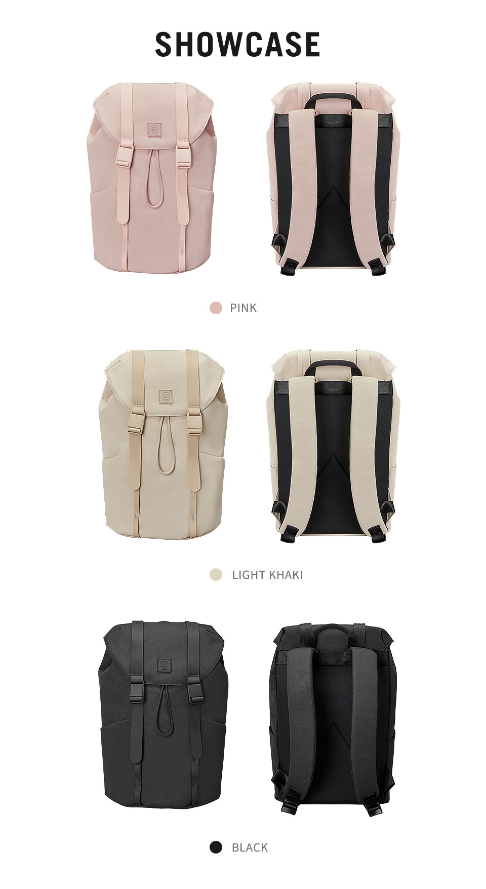 Casual Unisex Fashion Colorful Urban Laptop Backpack for girls and boys