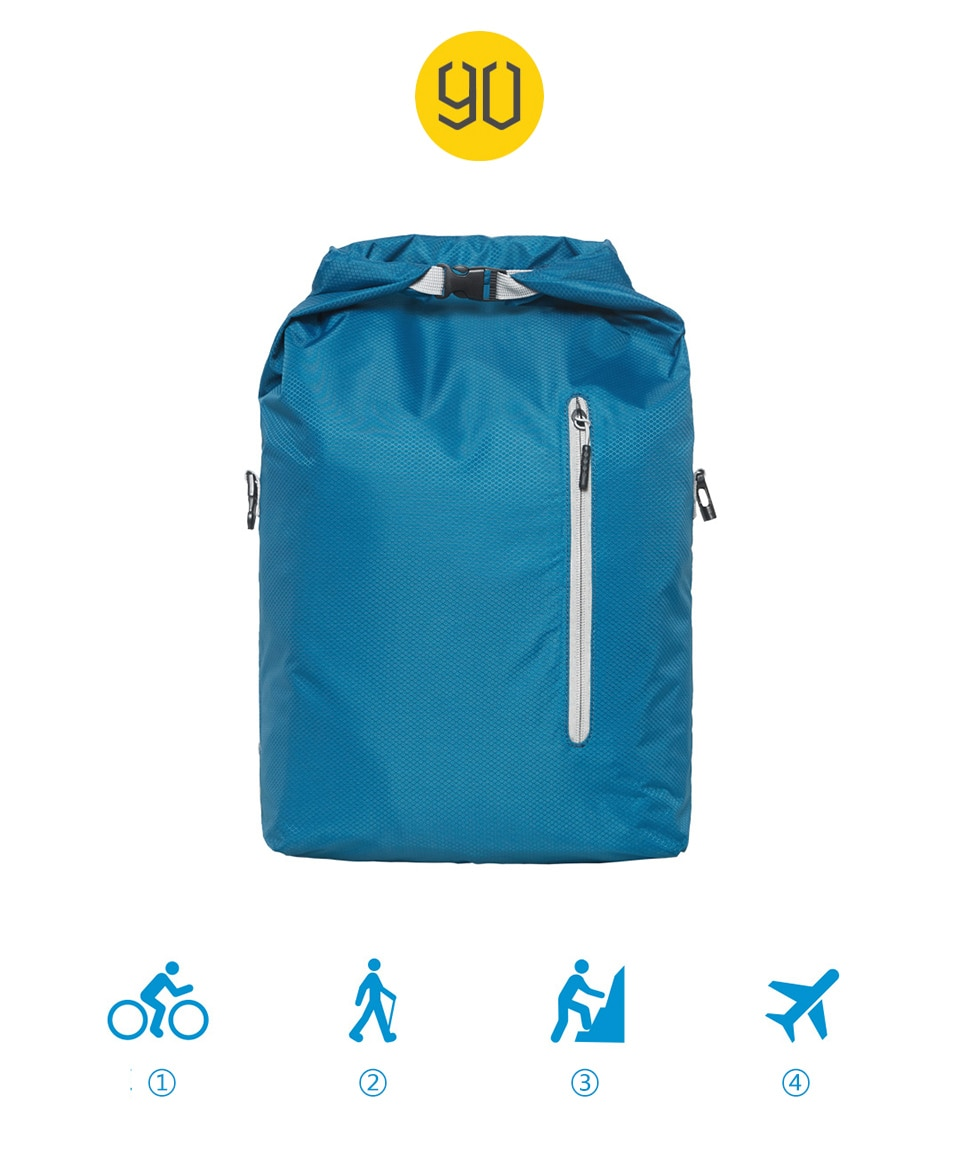 Sport Waterproof 20L Lightweight Foldable Backpack for girls and boys